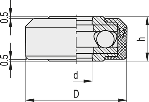 CMC.32-8 Dimensioned drawing 2D