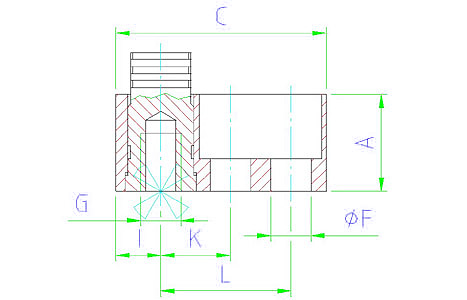 EH 2370.312 Position Base Element Parameter drawing 2D