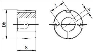 5040 A 70 Dimensioned drawing 2D
