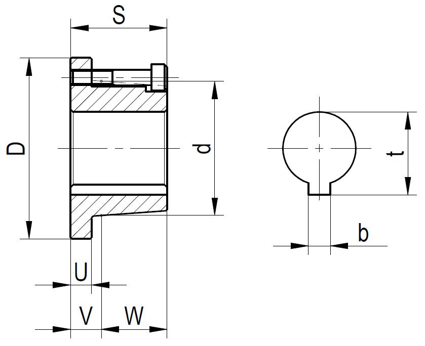 9560 A 00 Dimensioned drawing 2D