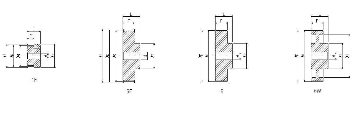10 RPP3  6 - 1F Dimensioned drawing 2D