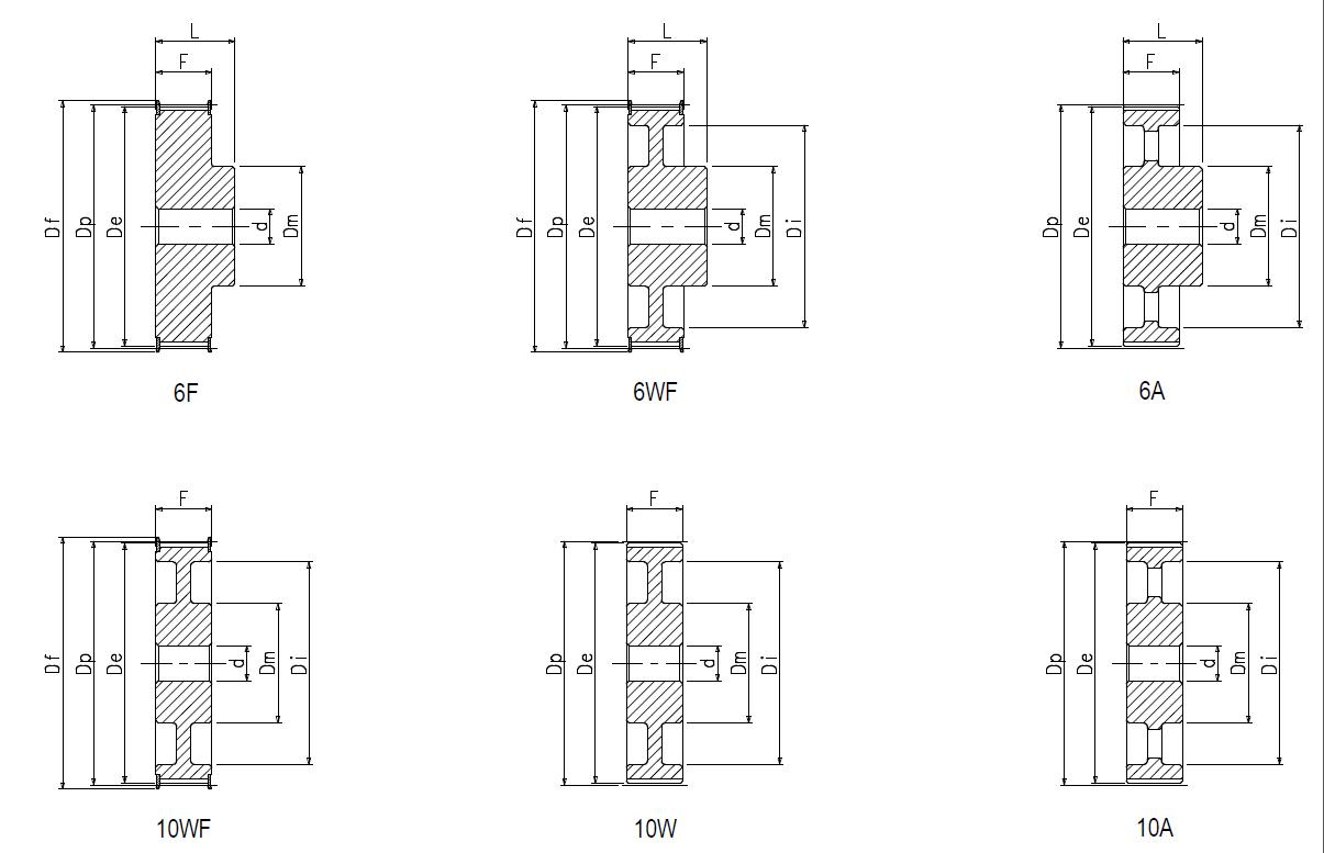28 RPP14  40 - 6F Dimensioned drawing 2D