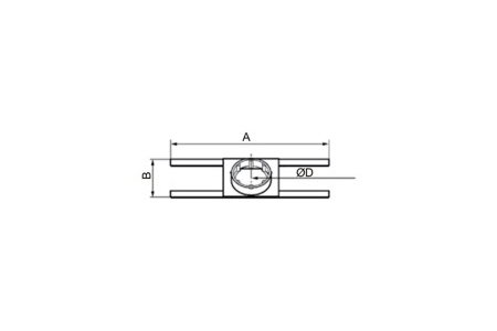 Accessory - Protection guard, type BROCHAL-125 Drawing 2D