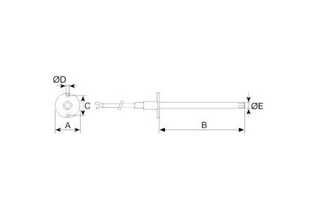 Accessory - Electrical accessory, type TG-K310 Drawing 2D