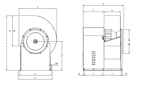 CMII-315 Technical drawing 2D